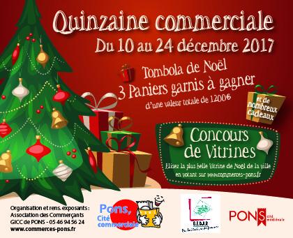 Marché de Noël et Quinzaine commerciale 2017