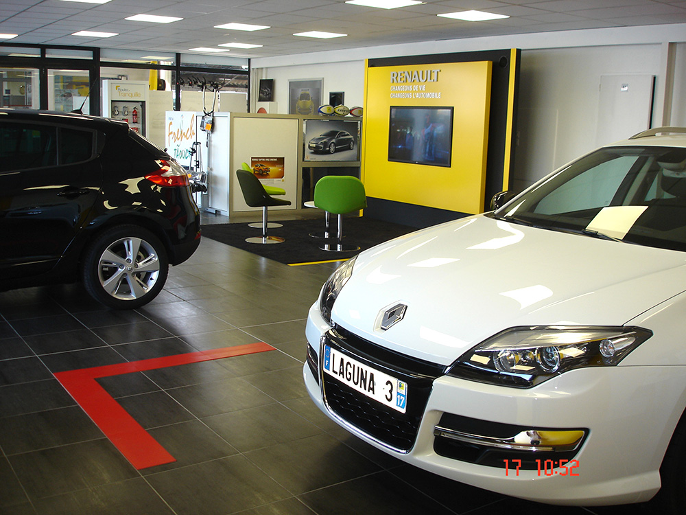 Relais de saintonge gicc pons cit commerciale for Garage renault revision