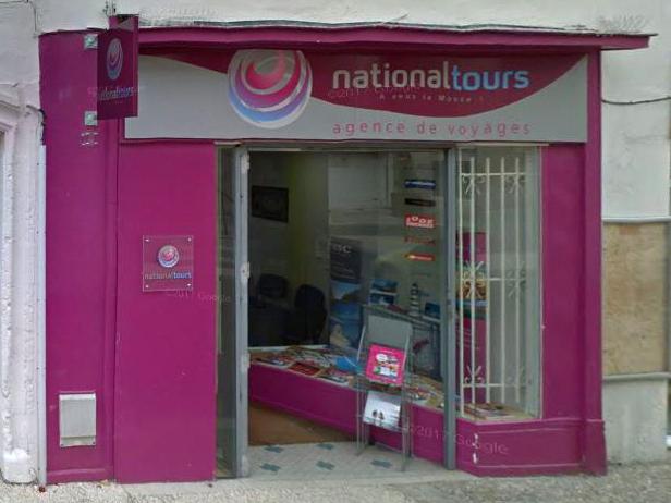 Agence de voyage National Tours à Pons