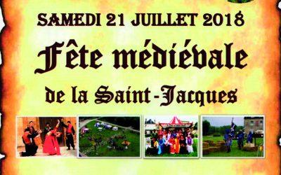 Fête Médiévale de la Saint Jacques 2018