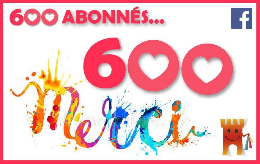 Page Facebook GICC de Pons - 500 abonnés
