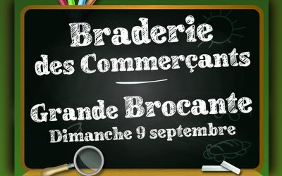 Braderie – Brocante des Commerçants
