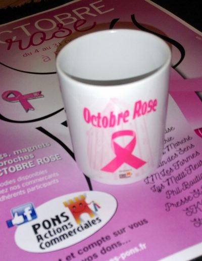Octobre rose 2018 - Pons Actions commerciales-mug