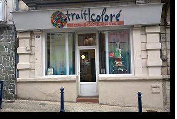 Trait coloré - Atelier dessin peinture - Pons