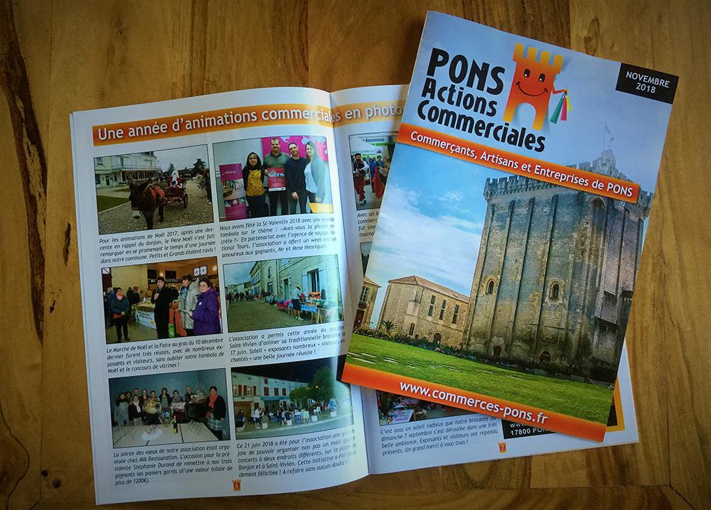 Magazine Pons Actions commerciales - Novembre 2018