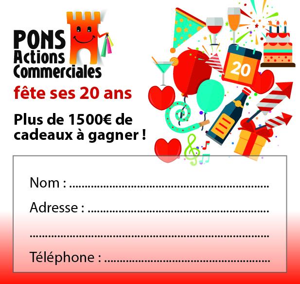 Pons Actions Commerciales fête ses 20 ans