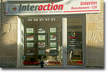 Interaction - Agence recrutement interim - Pons