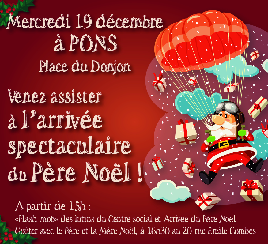 Marché de Noël 2018 - Pons Actions Commerciales - Dimanche 9 décembre 2018
