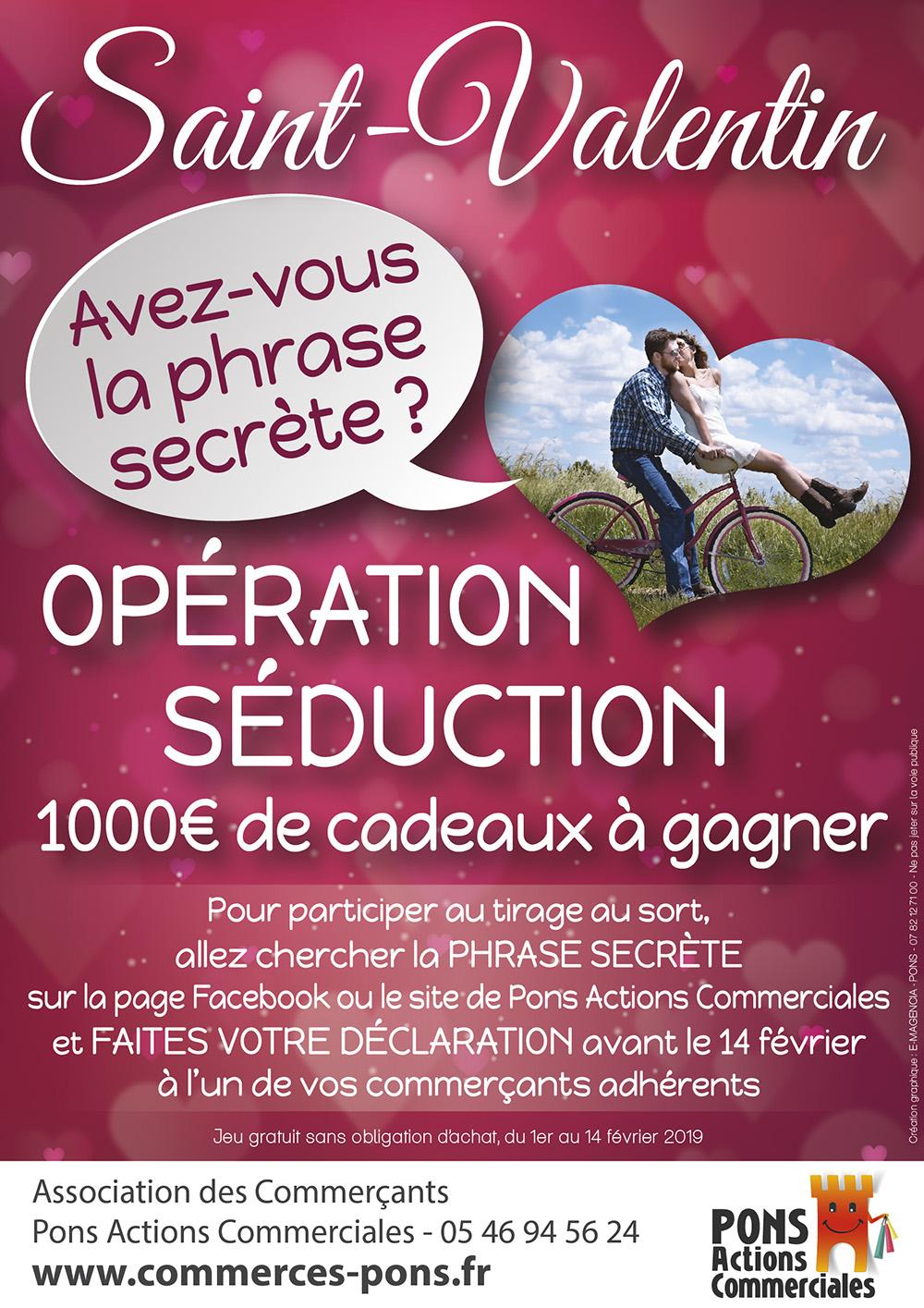 GICC Pons - Opération Saint Valentin 2018