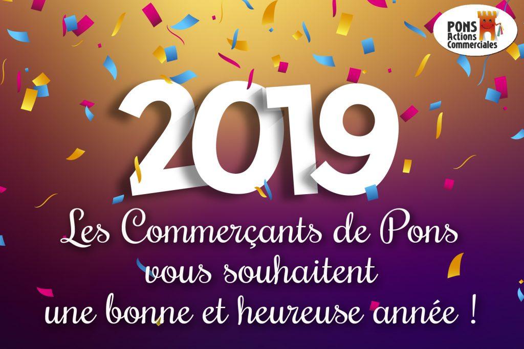 Pons Actions commerciales-bonne année 2019