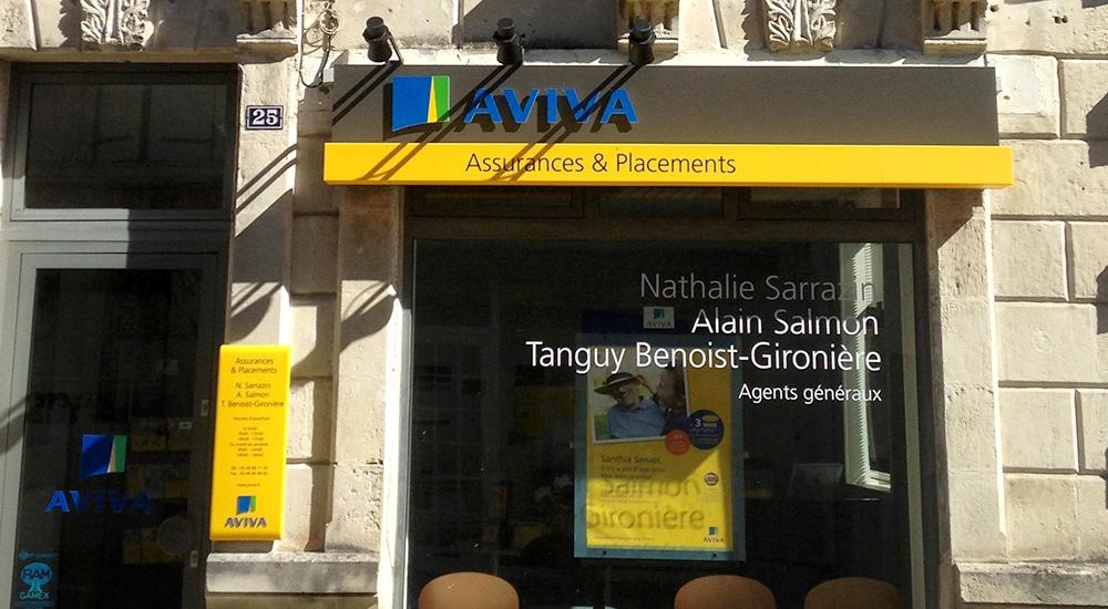 Aviva Assurances - Pons Actions commerciales