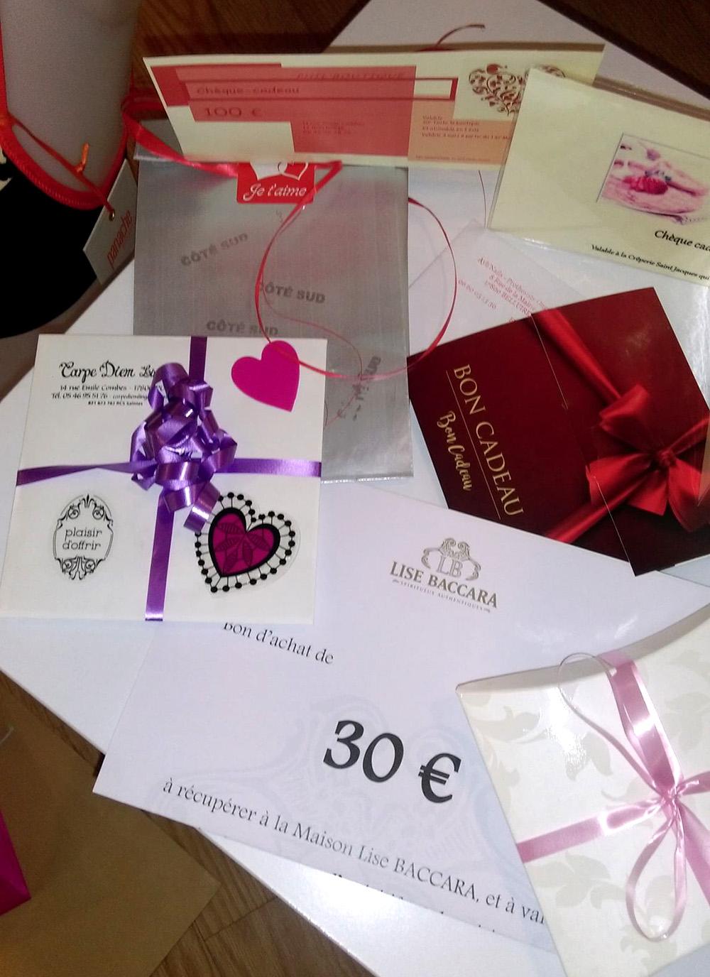 Pons Actions Commerciales -Saint Valentin 2019-Gagnants