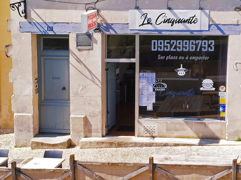 Le Cinquante pizzeria - Pons