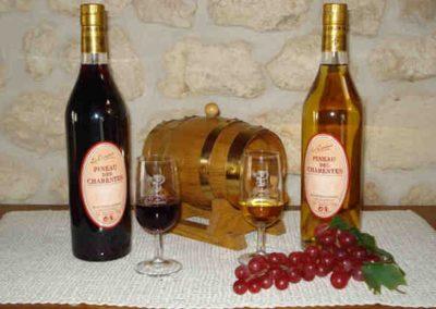 Les Ormeaux - pineau - cognac - Bouteilles de pineau