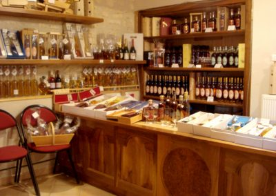 Les Ormeaux - pineau - cognac - Boutique