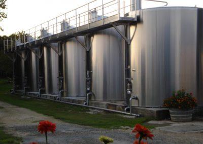Les Ormeaux - pineau - cognac - Cuves distillerie