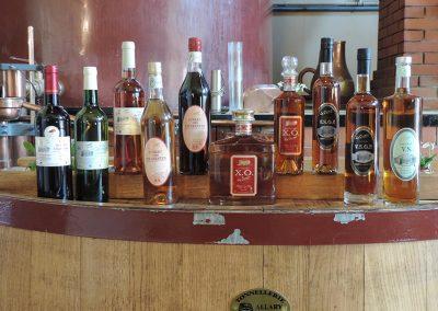 Les Ormeaux - pineau - cognac - Produits