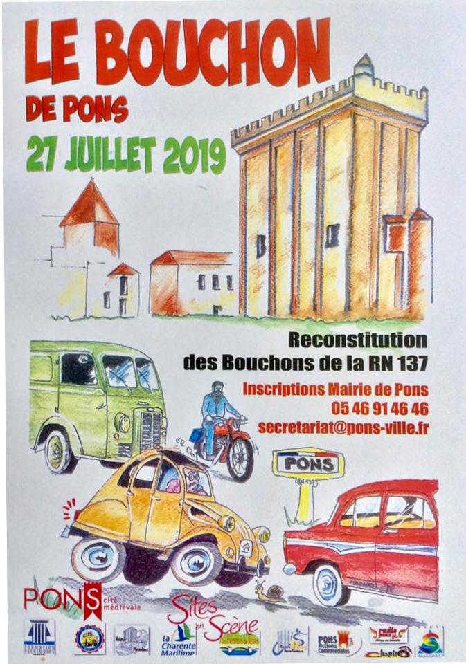Le Bouchon de Pons Juillet 2019