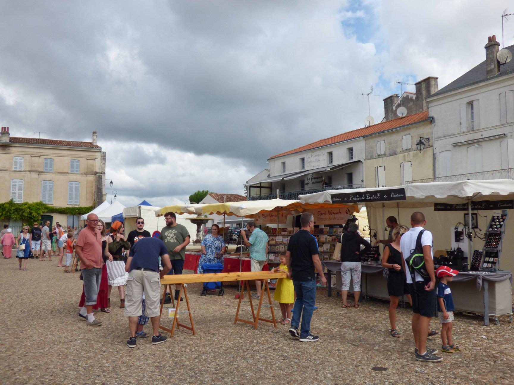 Fête médiévale Pons juillet 2018 - 05