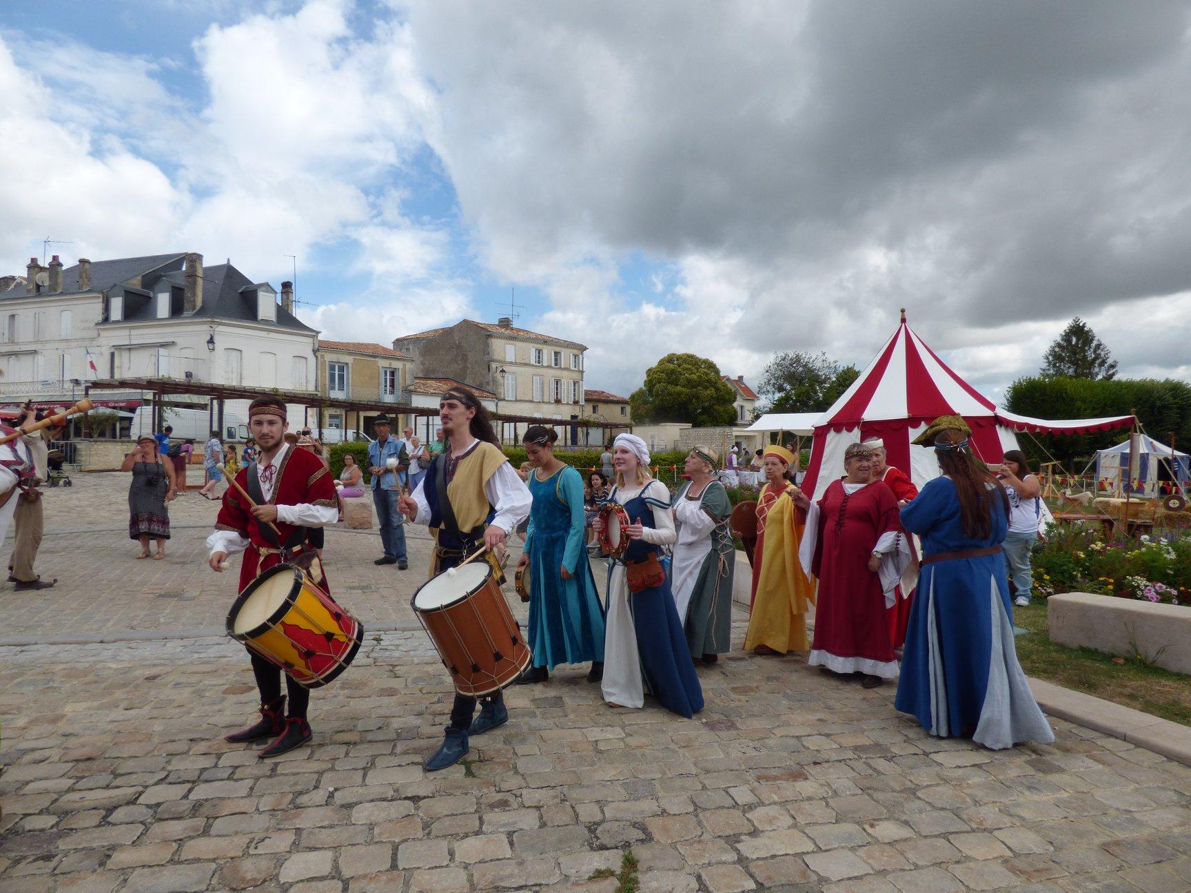 Fête médiévale Pons juillet 2018 - 08