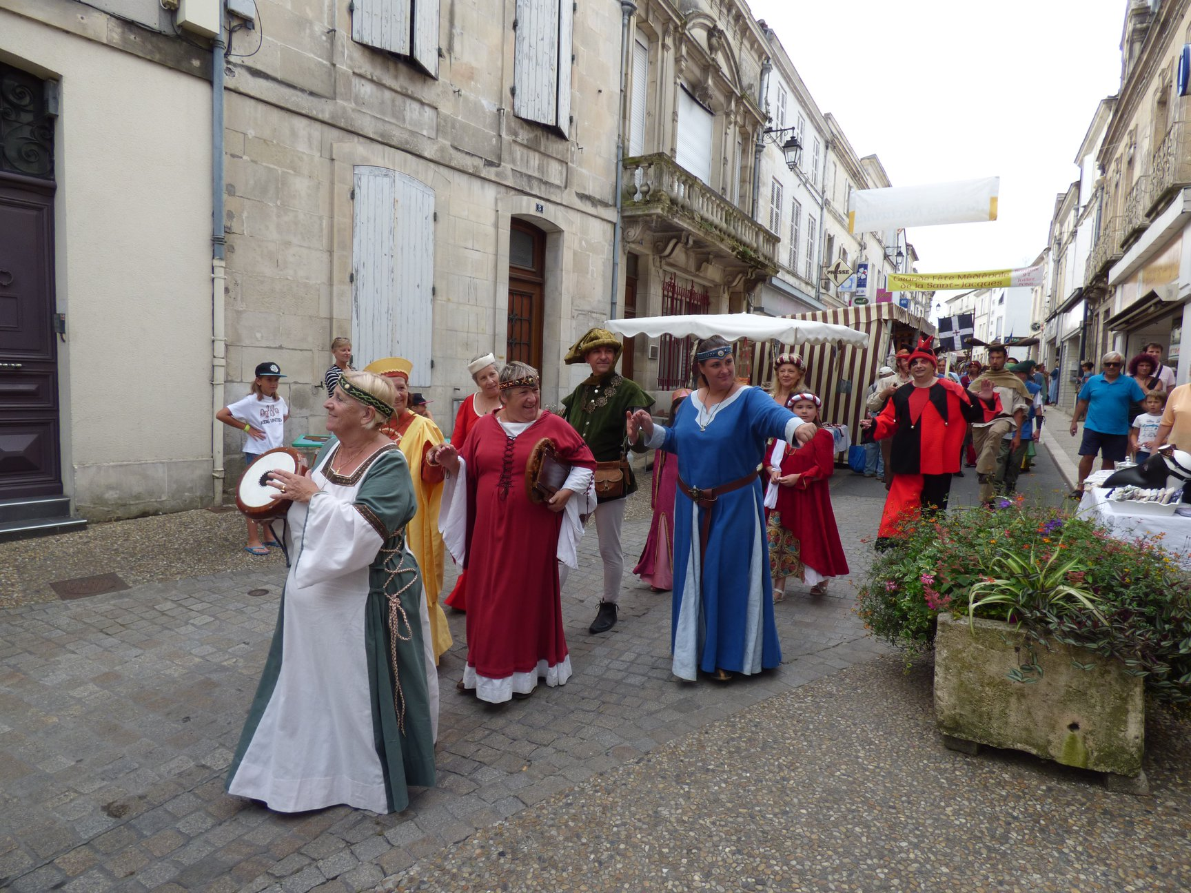 Fête médiévale Pons juillet 2018 - 12