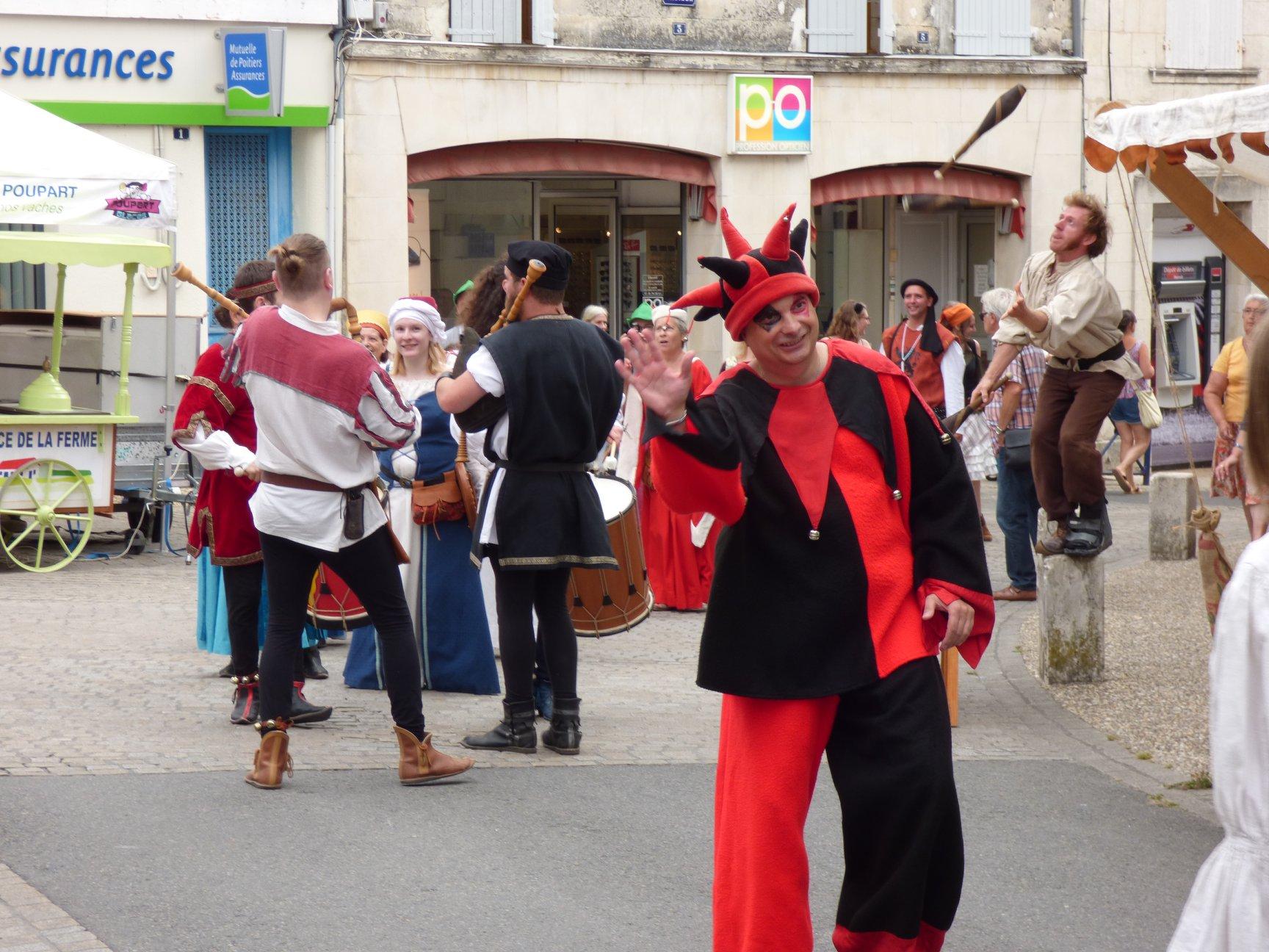 Fête médiévale Pons juillet 2018 - 16