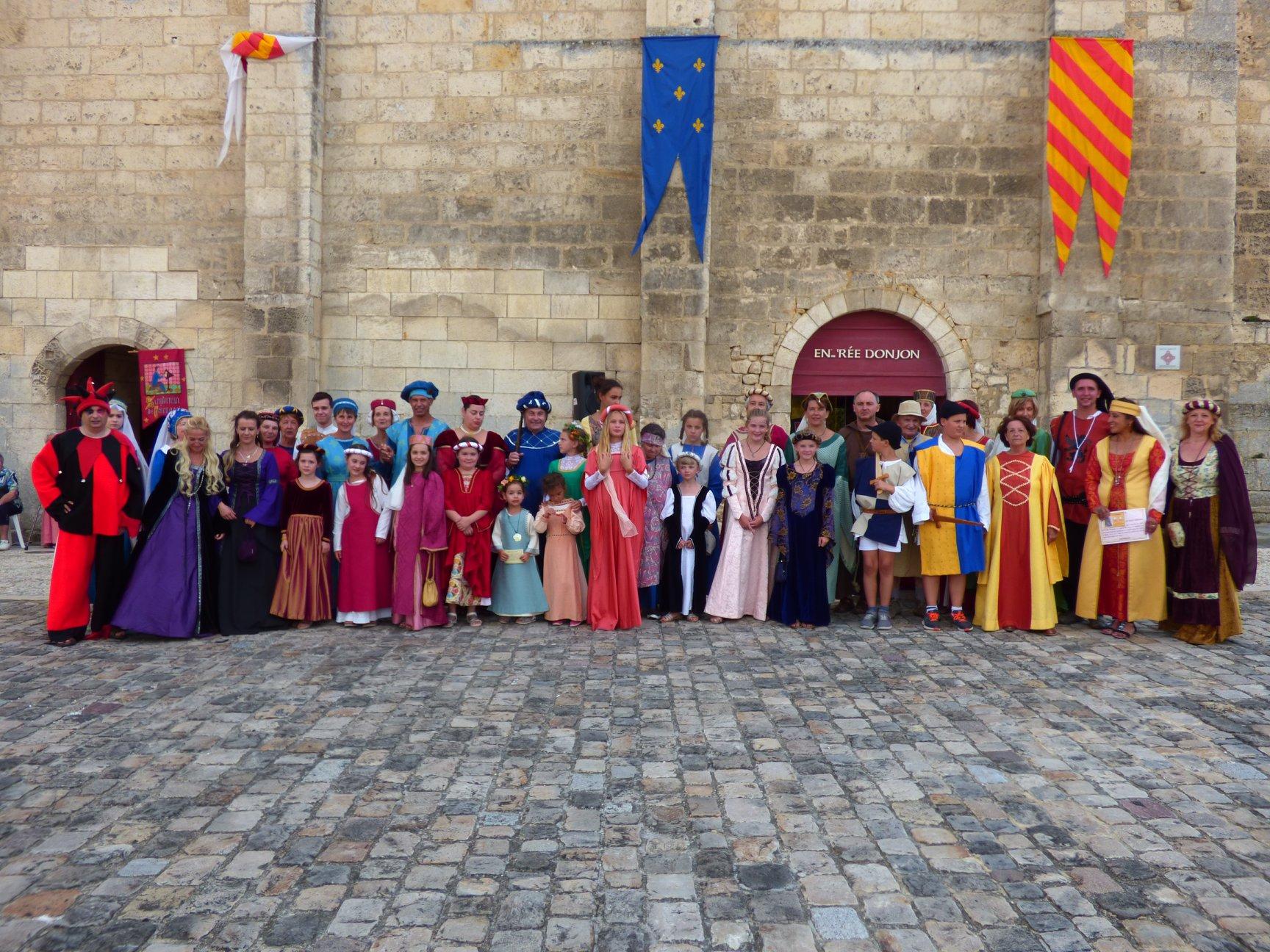 Fête médiévale Pons juillet 2018 - 28