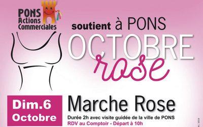 Une Marche et une Brocante pour soutenir Octobre Rose!