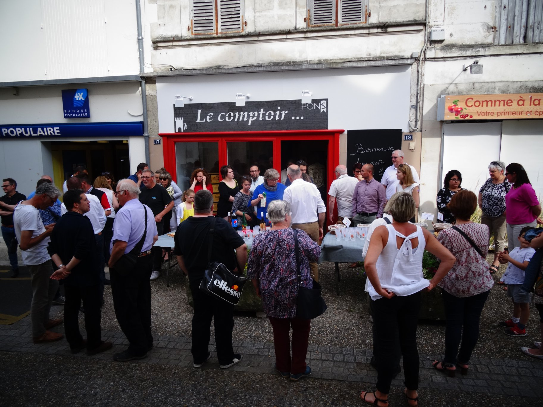 Pons Actions Commerciales - Inauguration Le Comptoir Juin 2019 - 06