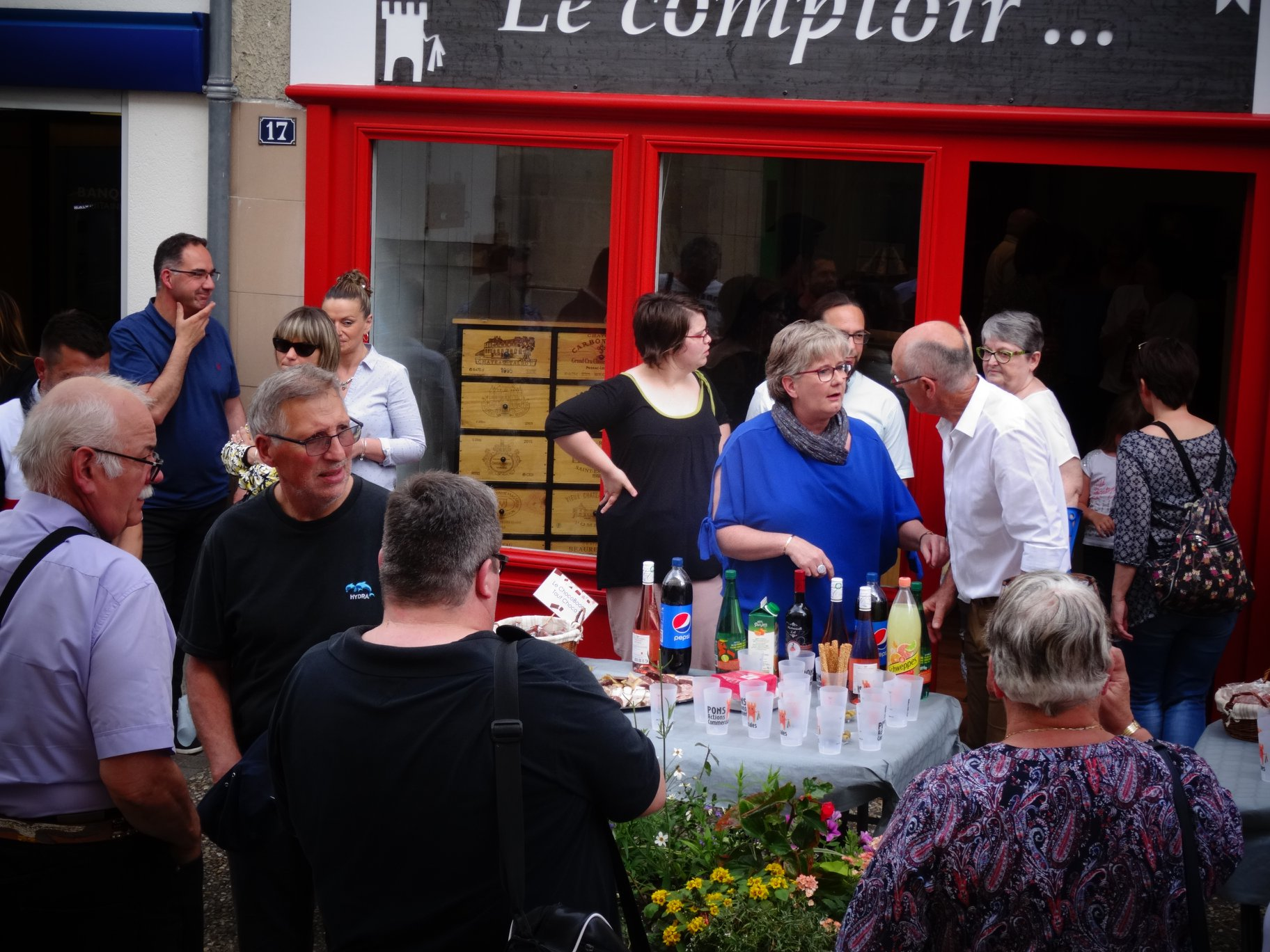 Pons Actions Commerciales - Inauguration Le Comptoir Juin 2019 - 08