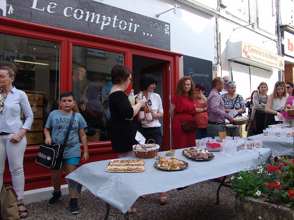 Pons Actions Commerciales - Inauguration Le Comptoir Juin 2019 - 25