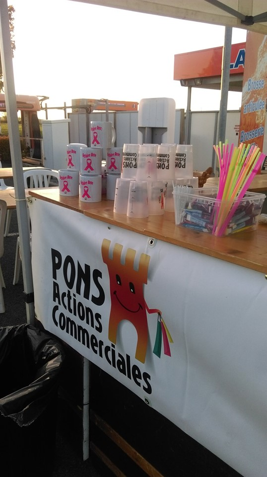 Pons Actions Commerciales - Octobre Rose 2019 - Brocante 03