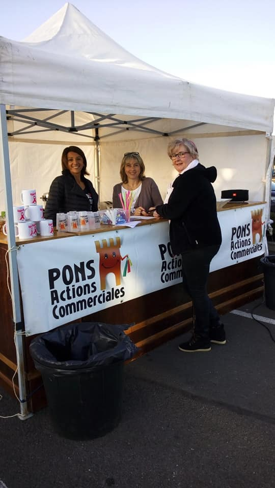 Pons Actions Commerciales - Octobre Rose 2019 - Brocante 06