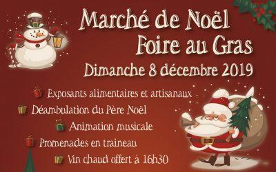 Marché et animations de Noël 2019