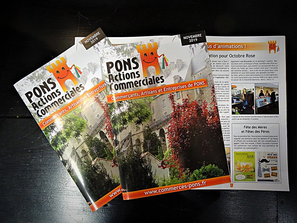 Pons Actions commerciales - Magazine édition 3 - Novembre 2019