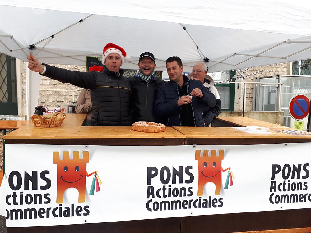 Pons Actions Commerciales - Marché de Noël - Décembre 2019 - 01