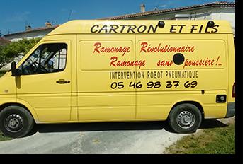 Cartron et fils - Ramonage - Pons Actions Commerciales