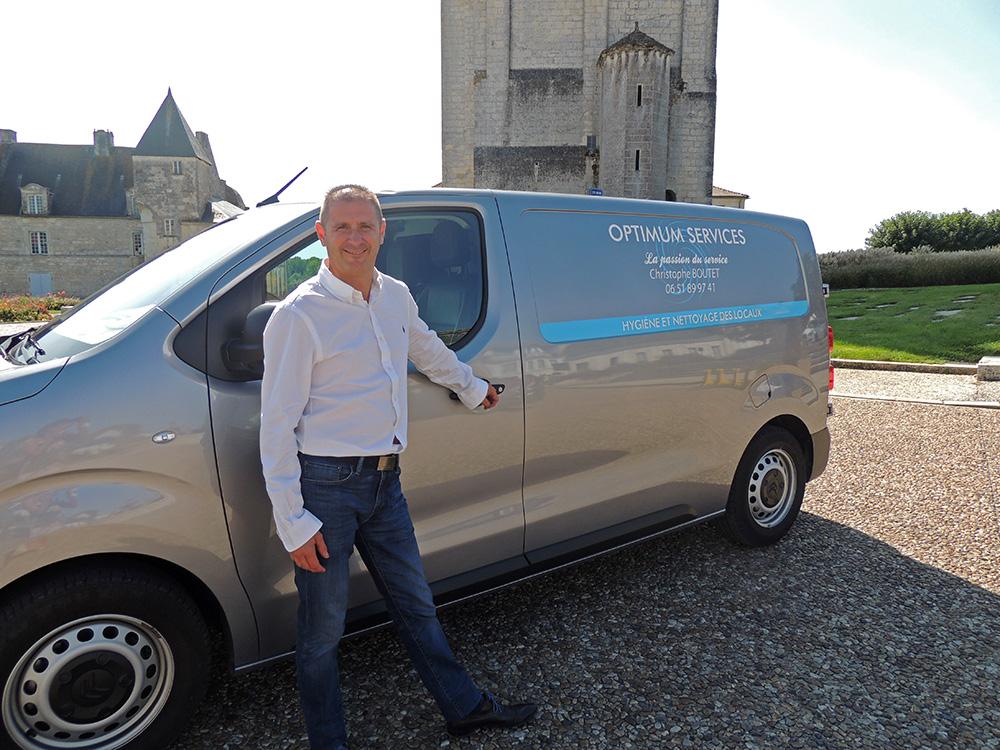 Christophe Boutet - Optimum Services - Pons Actions Commerciales
