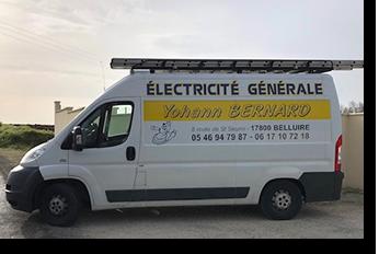 Yohann Bernard - Electricité générale - Pons