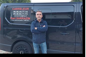 Frédéric Sarrazin - artisan carreleur - Pons Actions Commerciales