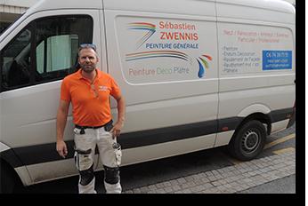 Sebastien Zwennis - Peintre - Pons Actions Commerciales