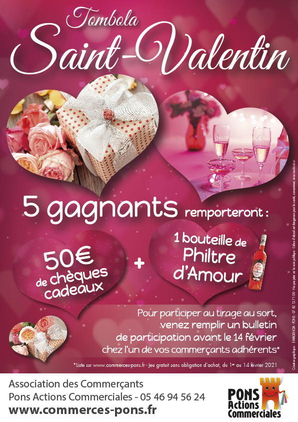 Pons Actions Commerciales -StValentin2021-Affiche