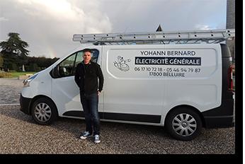 Yohann Bernard - Electricité générale Pons