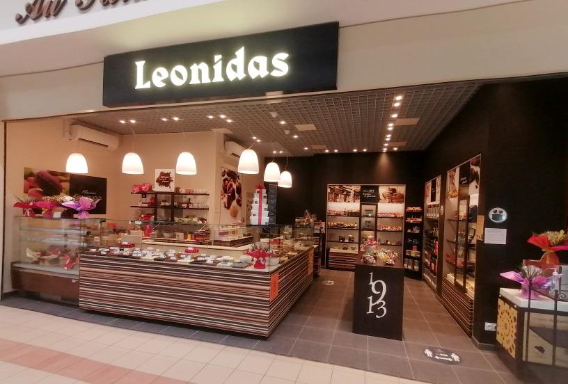 Commerces Pons - Leonidas - Le palais gourmand