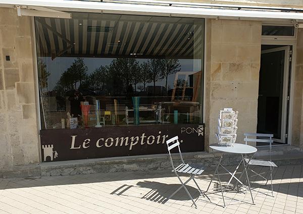 Pons Actions Commerciales - Le Comptoir - Place de la République