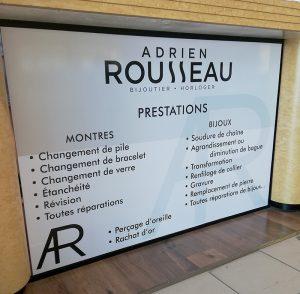 Bijouterie Adrien Rousseau - Pons Actions Commerciales