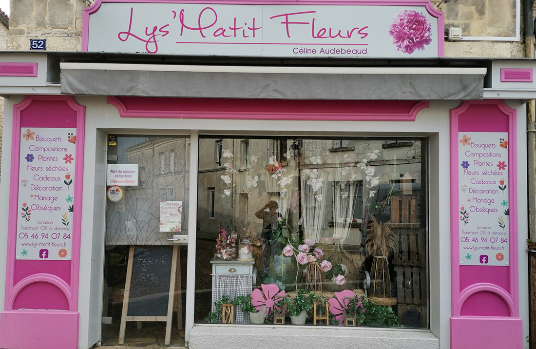 Fleuriste - Lys matit fleurs - Pons Actions Commerciales