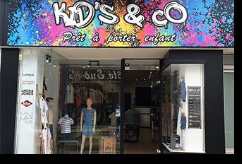 Kids&Co - Pret à porter enfants - Pons Actions Commerciales